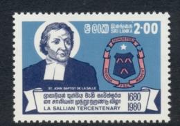Sri Lanka 1981 De La Salle Brothers Order MUH - Sri Lanka (Ceylon) (1948-...)