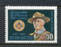 Sri Lanka 1982 Scouting Year MUH - Sri Lanka (Ceylon) (1948-...)