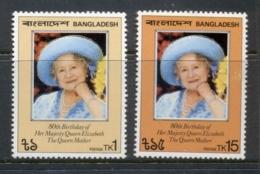 Bangladesh 1981 Queen Mother 80th Birthday MUH - Bangladesh