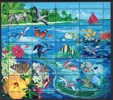 COCOS Is, 1999 LIVING MOSAIC SHEETLET MNH - Cocos (Keeling) Islands