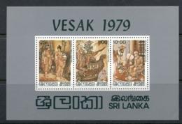 Sri Lanka 1979 Vesak Festival MS MUH - Sri Lanka (Ceylon) (1948-...)