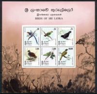 Sri Lanka 1979 Birds Of Sri Lanka MS MUH - Sri Lanka (Ceylon) (1948-...)
