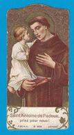 SAINT ANTOINE DE PADOUE PRIEZ POUR NOUS / F.SCH.N. / AVEC L'APPROBATION ECCLESIASTIQUE - Devotion Images