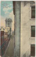 Cuba Santiago 1925 BANCO CANADA Postcard Bank Building Edificio Trajeta Postal Postcard Stamp - Cuba