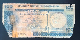 SOMALIA 100 SHILLINGS 1978 - Somalia