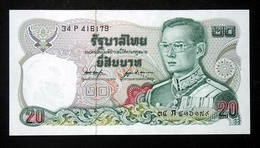 Thailand Banknote 20 Baht Series 12 P#88 SIGN#53 UNC - Thailand