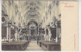 Osseg - Klosterkirche - Innenansicht - Um 1900 - Tschechische Republik