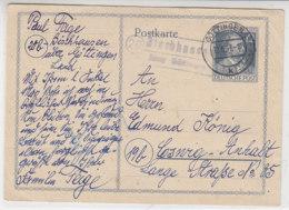 LANDPOST (20) Bischhausen über Göttingen 12.6.47 - American,British And Russian Zone
