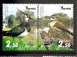BOSNIA AND HERZEGOVINA 2019,EUROPA CEPT,NATIONAL BIRDS,MNH - Bosnia And Herzegovina