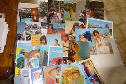 Lot De 70 CARTES FEMMES NUES...SEXY (avec Defauts...pliures, Traces..etc...+ Ou - Importantes) - Cartes Postales