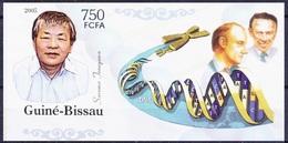 Susumu T, Nobel Medicine Winner Immunology, Guinea Bissau 2005 Imperf MNH   ( - Nobelpreisträger