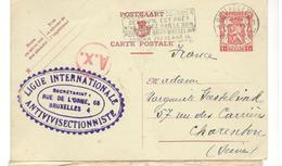 17771 - LIGUE ANTIVIVISECTIONNISTE - Lettres & Documents