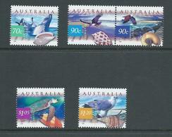 Australia 1999 Marine Fauna Set 5 MNH - 1990-99 Elizabeth II