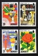 JERSEY MI-NR. 827-830 ** VERANSTALTUNGEN AUF JERSEY - EUROPA 1998 - Jersey