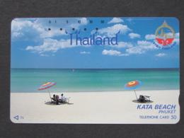 JAPAN PHONECARD NTT 110-29576 VISIT THAILAND KATA BEACH PHUKET - Japan
