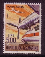 SAN MARINO MI-NR. 829 ** FLUGPOSTMARKE PROPELLERTURBINE ROLLCE-ROYCE - San Marino