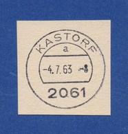 BRD TSt - 2061 KASTORF, A, -4.7.63 - BRD