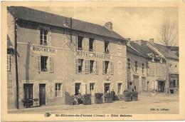 SAINT ETIENNE DE FURSAC: HOTEL MODERNE - France