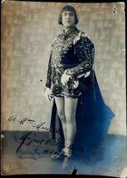 MIGUEL VILLABELLA PHOTO  DEDICACEE A LA MAIN  SPECTACLE VEDETTE ACTEUR UN MANQUE SUR LE BORD - Autographs