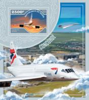 Niger 2014  Concorde,airplane - Niger (1960-...)