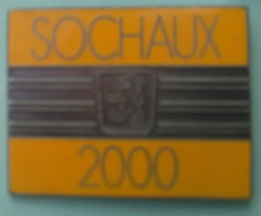 Pin's PEUGEOT - 2000 - SOCHAUX - 25 DOUBS - Peugeot