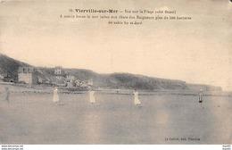 VIERVILLE SUR MER - Vue Sur La Plage - Très Bon état - Autres Communes