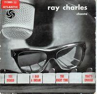 Disque De Ray Charles - Yes Indeed -atlantic 212005 M - Jazz