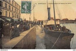 HONFLEUR - L'Embarcadère Du Bateau Du Hâvre - Très Bon état - Honfleur