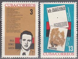 CUBA     SCOTT NO. 850-51      MNH        YEAR  1964 - Unused Stamps