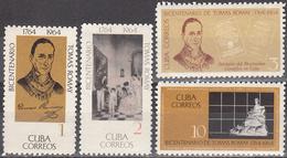 CUBA     SCOTT NO. 927-30      MNH        YEAR  1964 - Unused Stamps