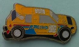 Pin's PEUGEOT 205 GTI - RACING - ESSO - MICHELIN - Peugeot