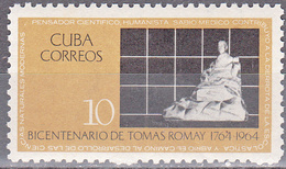 CUBA     SCOTT NO. 930      MNH        YEAR  1964 - Unused Stamps