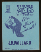 Buvard - J.M. PAILLARD - Peindre Dessiner Ecrire - Boite 422 - Vloeipapier