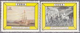 CUBA     SCOTT NO. 933-34    MNH        YEAR  1965 - Unused Stamps