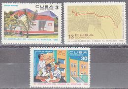 CUBA     SCOTT NO. 1343-45    MNH        YEAR  1968 - Unused Stamps