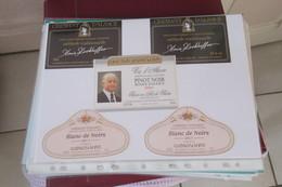 190  Etiquettes De Vins D ' ALSACE  Blanc Ou Rouge - Collections, Lots & Séries