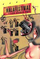 [MD3475] CPM - TEATRO - MALAFESTIVAL - ARS IN MALA CAUSA - AVIGLIANA - TORINO - PERFETTA - Non Viaggiate - Teatro