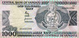 Billet De Vanuatu De 1000 Vatu N D ( 2002 ) En T T B - Signature N° 1 - - Vanuatu