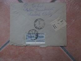 CAIRO Registered Mail  Timbro Arrivo Napoli 24.10.1922 - Egitto