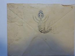"""Busta  Viaggiata """"CARABINIERI REALI COMANDO 5° GRUPPO DI LEGIONI ROMA"""" 1920 - 1900-44 Victor Emmanuel III"""