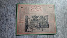 Calendrier 1904  Almanach Des Postes Pavillon Chinois Du Bois De Boulogne - Calendari