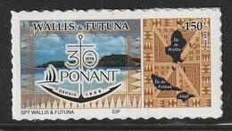 WALLIS Et FUTUNA - 2018 - TIMBRE ADHESIF : 30 Ans De Ponant - Wallis-Et-Futuna