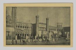 Vintage View Of The Railway Station At Delhi, India, Lot # IND 673 - Stazioni Senza Treni