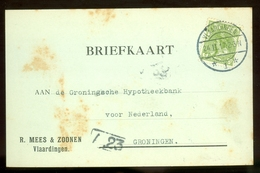 BRIEFKAART Uit 1917 * GELOPEN Van VLAARDINGEN Naar GRONINGEN  (11.558M) - Periode 1891-1948 (Wilhelmina)