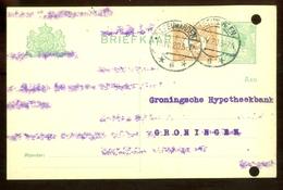 MENGFRANKERING * BRIEFKAART Uit 1920 * GELOPEN Van LEEUWARDEN Naar GRONINGEN  (11.558o) - Periode 1891-1948 (Wilhelmina)