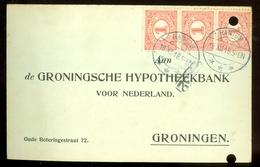 BRIEFKAART Uit 1918 * GELOPEN Van HANTUM Naar GRONINGEN  (11.558p) - Periode 1891-1948 (Wilhelmina)