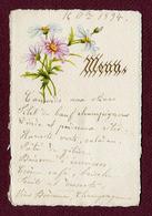 MENU  De 1894 - Menus