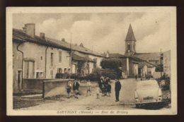 55 - SAUVIGNY - RUE DE BRIXEY - EDITEUR HIMBERT, NEUFCHATEAU - Autres Communes