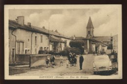 55 - SAUVIGNY - RUE DE BRIXEY - EDITEUR HIMBERT, NEUFCHATEAU - France
