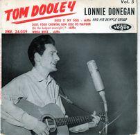 Disque - Lonnie Donegan - Tom Dooley Vol. 5 - Vogue PNV. 24.039 - 1959 - - Country Et Folk